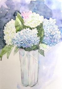 金曜会・紫陽花 - ryuuの手習い