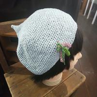夏のニット帽 - ぴっちょり工房おきらくスイッチON