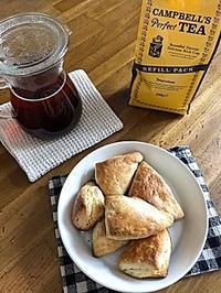 紅茶とスコーン - bonco、、、ぼん子、てんてんてん
