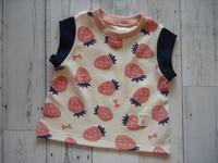 北欧いちごで、milimiliさんの4種の袖Tシャツ♪ - haLとhalのものづくりな日々。