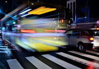 雨の夜の交差点 - 天野主税写遊館