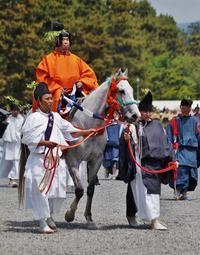 葵祭(4)本列・舞人 - たんぶーらんの戯言