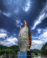 屹立する蟹の爪 - ぽとすのくずかご
