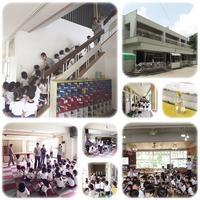 垂直避難訓練!!!!! - ひのくま幼稚園のブログ