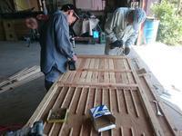 加治木の家建て方前の準備 - 木楽な家 現場レポート