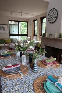 【初夏のレッスン:テーブルコーディネート】 - Plaisir de Recevoir フランス流 しまつで温かい暮らし