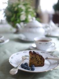 タイムとアプリコットのケーキ@ゆるマクロビ - お茶をどうぞ♪