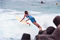 Okinawa Surfer Girl - あ お そ ら 写 真 社