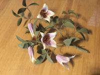 ベル咲きクレマチス…2種類 - 布花館へようこそ