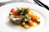銀ダラのマンゴーソース - 登志子のキッチン