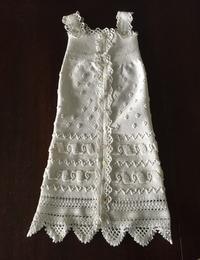 手編みベビーノースリーブドレス9 - スペイン・バルセロナ・アンティーク gyu's shop