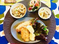 シーフード祭り イカのマリネと鯵フライ! - ワタシの呑日記
