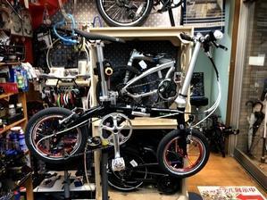 DAHON DOVE PLUS ブルホーン化のご依頼です。 - カルマックス タジマ -自転車屋さんの スタッフ ブログ