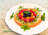 天然酵母で作るフルーツピッツァ - ミトンのマクロビキッチン