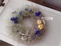 スモークツリーのミニリース - 森の工房 Flower Work ナチュラルスローな空間