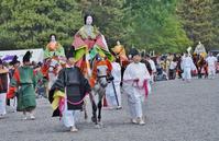 葵祭(9)斎王代列・駒女(むなのりおんな) - たんぶーらんの戯言