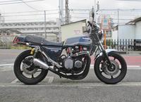 N井サン号 Z1000MK2のタイヤ交換やFフォークの仕様変更・・・(^^♪ (Part1) - バイクパーツ買取・販売&バイクバッテリーのフロントロウ!
