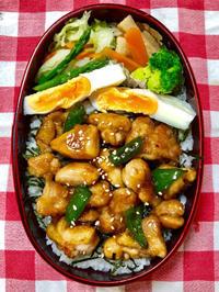 焼き鳥丼★(^^♪・・・・・息子弁当 - 日だまりカフェ
