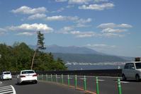 残雪残る山々へ初ほうとう - 京都ときどき沖縄ところにより気まぐれ