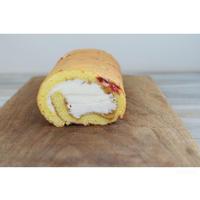 ピーナッツバターのロールケーキ - cuisine18 晴れのち晴れ
