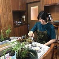 草もの盆栽レッスン@和桃李 - お茶をどうぞ♪