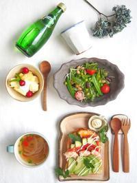 アボカドトーストの朝ごはん - 陶器通販・益子焼 雑貨手作り陶器のサイトショップ 木のねのブログ
