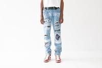 "EV BRAVADO CO. 04 ""Hell on Earth"" Blue Denim - メンズセレクトショップ Via Senato"