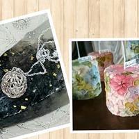 シルバーアクセサリーと紫陽花キャンドル作りの会 - Hiroshima HH