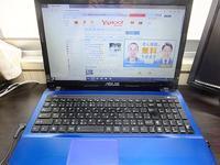 ノートPC ASUS K53Eファン清掃 & 電池交換 - 青いそらの下で・・・