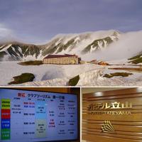 6/10・11「ホテル立山」で雷鳥・雪の大谷・星空を! - ♪ミミィの毎日(-^▽^-) ♪
