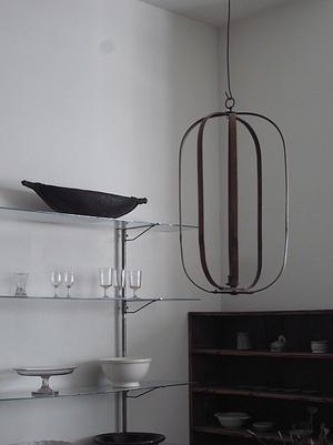 竹の吊り行灯 -
