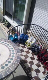 (再掲)【写真付版】運動靴10足が作業時間約5分でキレイに‼︎ - *3兄弟との気力体力温存生活          のすすめ*~kirishiman出没地帯~