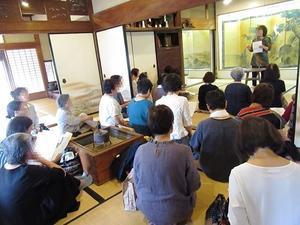 織り姫展 説明会 - 商家の風ブログ