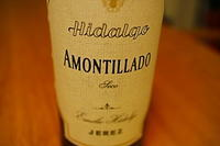 Emilio Hidalgo Amontillado Seco/エミリオ・イダルゴ トレシーリョ アモンティリャード<スペイン> - アルさんのつまみ食い3