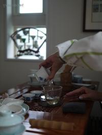 プライベートレッスン - お茶をどうぞ♪