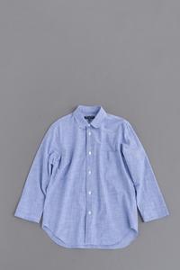 COMME des GARCONS HOMMERound Collar Chambray 8/10 Shirt - un.regard.moderne