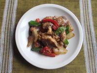 <イギリス料理・レシピ> 豚肉と野菜のショウガ焼き【Pork with Ginger and Soy Sauce】 - イギリスの食、イギリスの料理&菓子