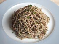 <イギリス料理・レシピ> ゴマソバ【Soba Sesami Noodles】 - イギリスの食、イギリスの料理&菓子
