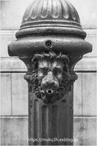 獅子頭共用栓 - muku3のフォトスケッチ