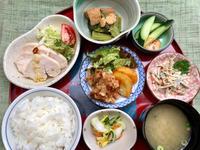 鶏ハム★(^^♪・・・・・700円ランチ - 日だまりカフェ