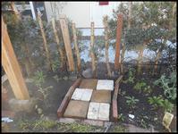 ショップ前の小さなアーチの変貌(-_-;) - ♪ 路地裏の 小さな庭と雑貨屋 ♪