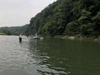 相模川釣行葉山島右岸 - 鮎毛鉤釣りの旅