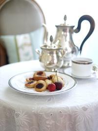 アメリカンチェリーのマドレーヌ@ゆるマクロビ - お茶をどうぞ♪