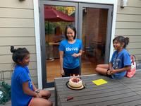 バースデーケーキとトイレ - bluecheese in Hakuba & NZ:白馬とNZでの暮らし