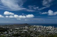 第899回  Picturesque landscapes in Hawaii - 湘南群青 -The sunset  blue -