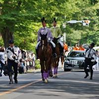 葵祭巡行(加茂街道編)(1)京都府警察平安騎馬隊 - たんぶーらんの戯言