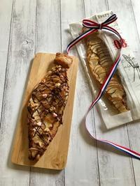 父の日に・・甘~いパイのネクタイ焼けました♡ - パンのちケーキ時々わんこ