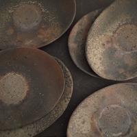 上野剛児さんのタタラ楕円皿 - warble22ya