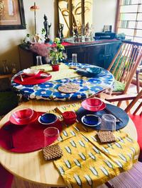 コールマンテーブルを引っ張り出してホームパーティー! - ワタシの呑日記