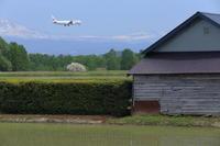 明るい農村~旭川空港~ - 自由な空と雲と気まぐれと ~from 旭川空港~